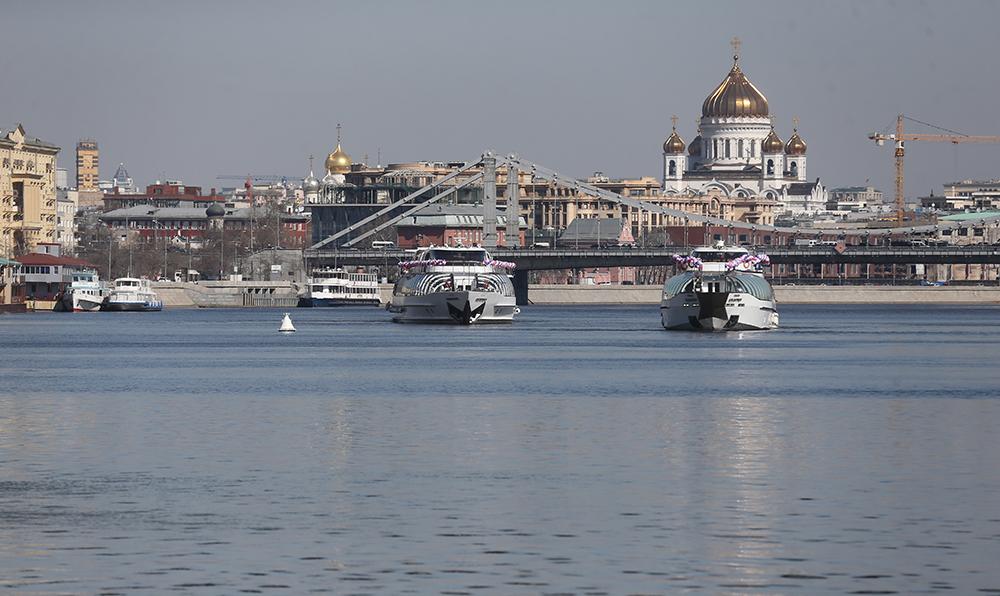 Открытие пассажирской навигации на Москва-реке