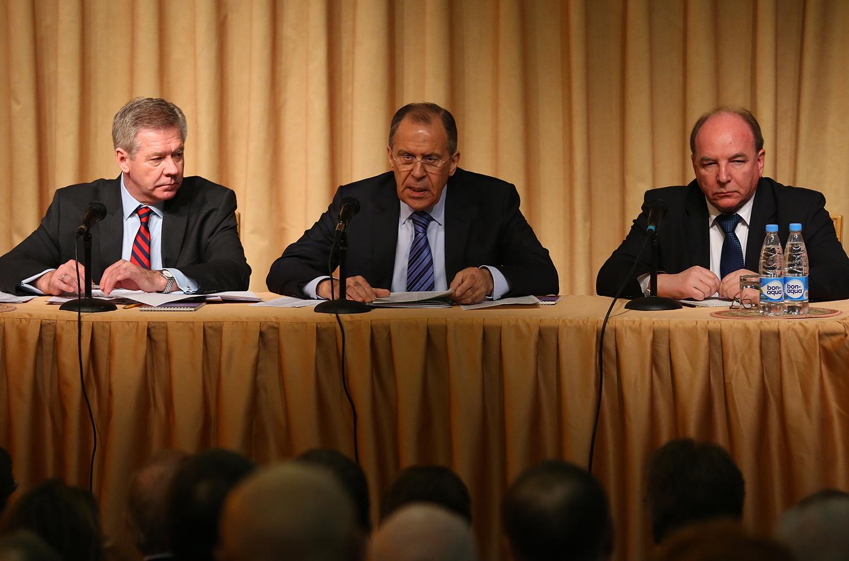 Сергей Лавров на встрече с представителями российских НПО международной специализации