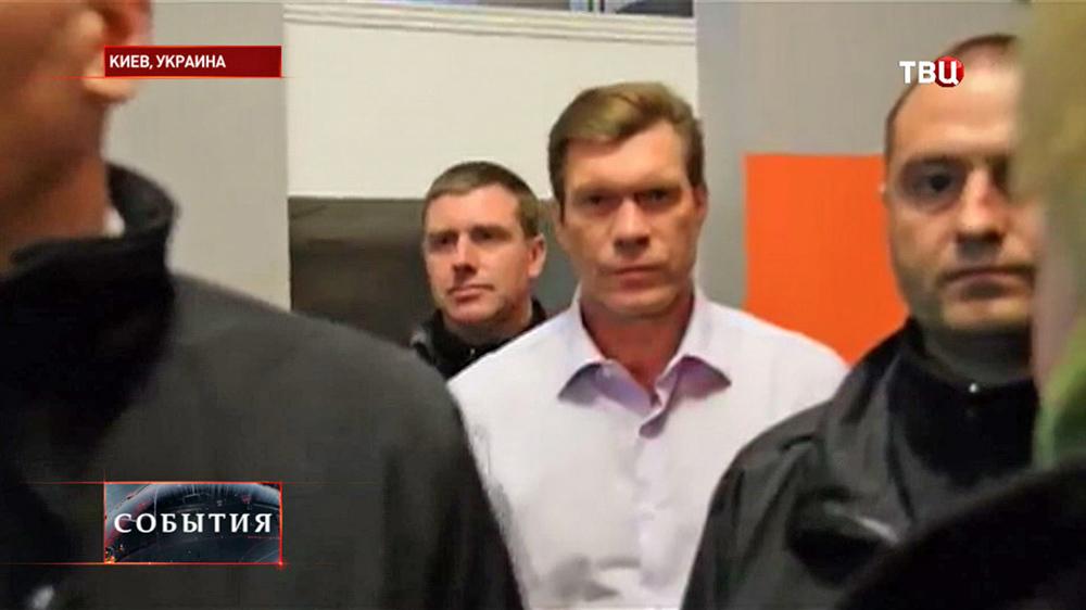 Кандидат в президенты Украины Олег Царёв