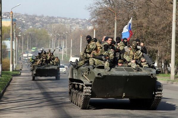 Военная техника в Краматорске