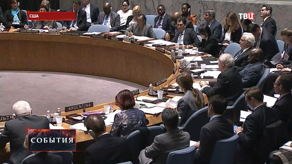 Заседание в ООН