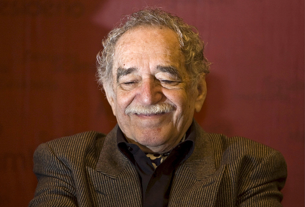 Писатель Габриэль Гарсиа Маркес