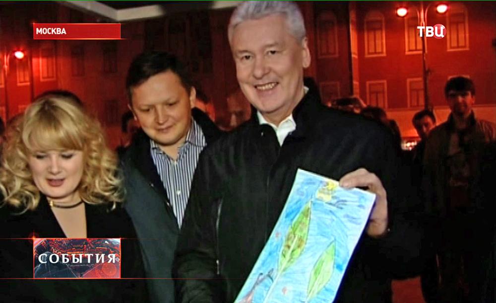 Сергей Собянин посетил пасхальную ярмарку