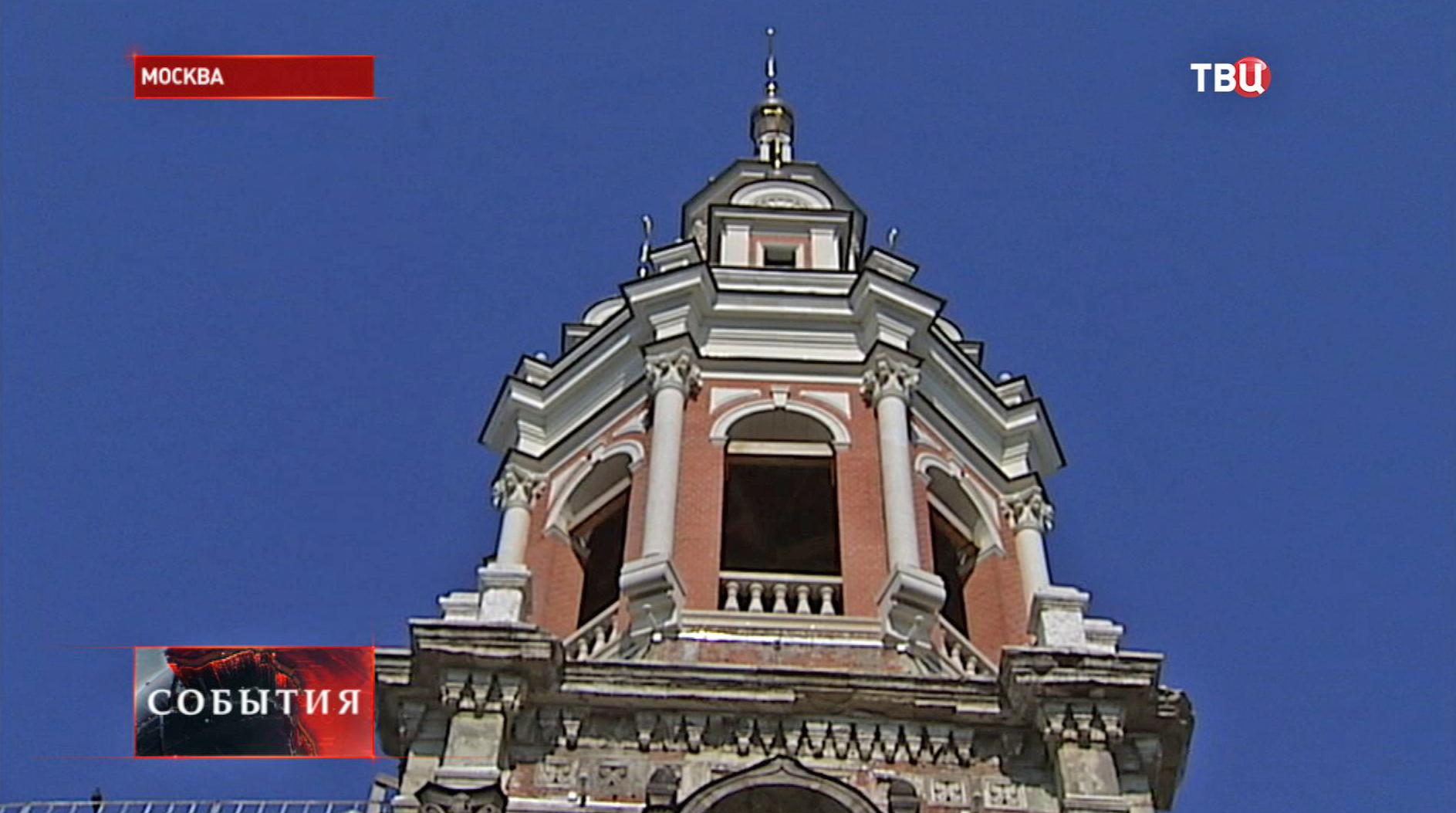 Колокольня Заиконоспасского монастыря
