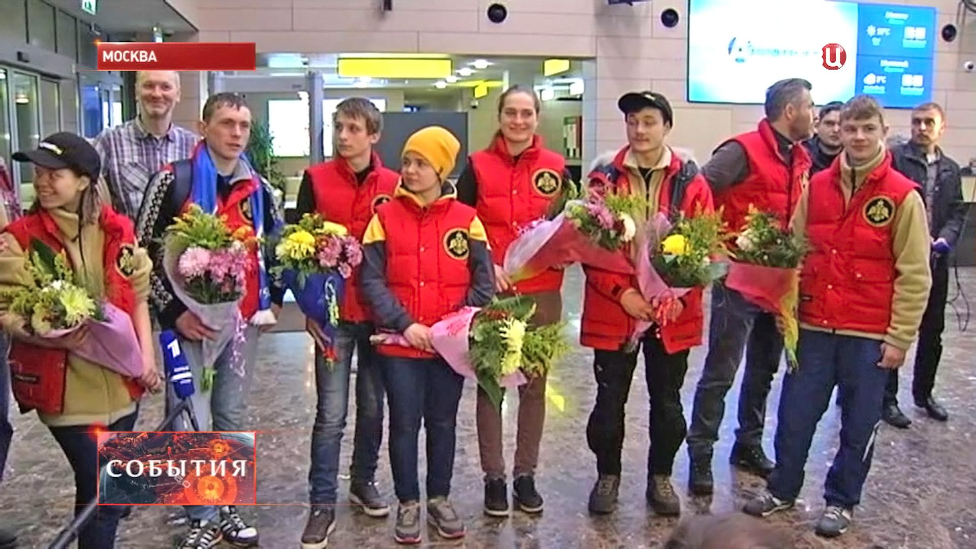 Участники седьмой молодежной экспедиции