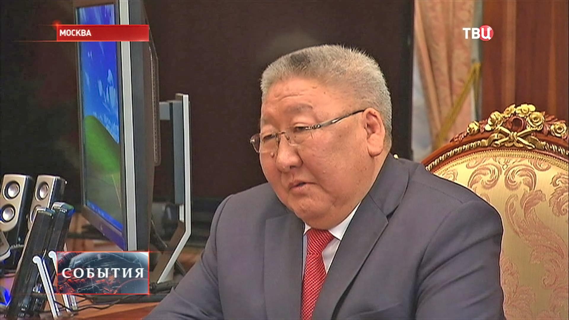Глава республики Саха-Якутии Егор Борисов