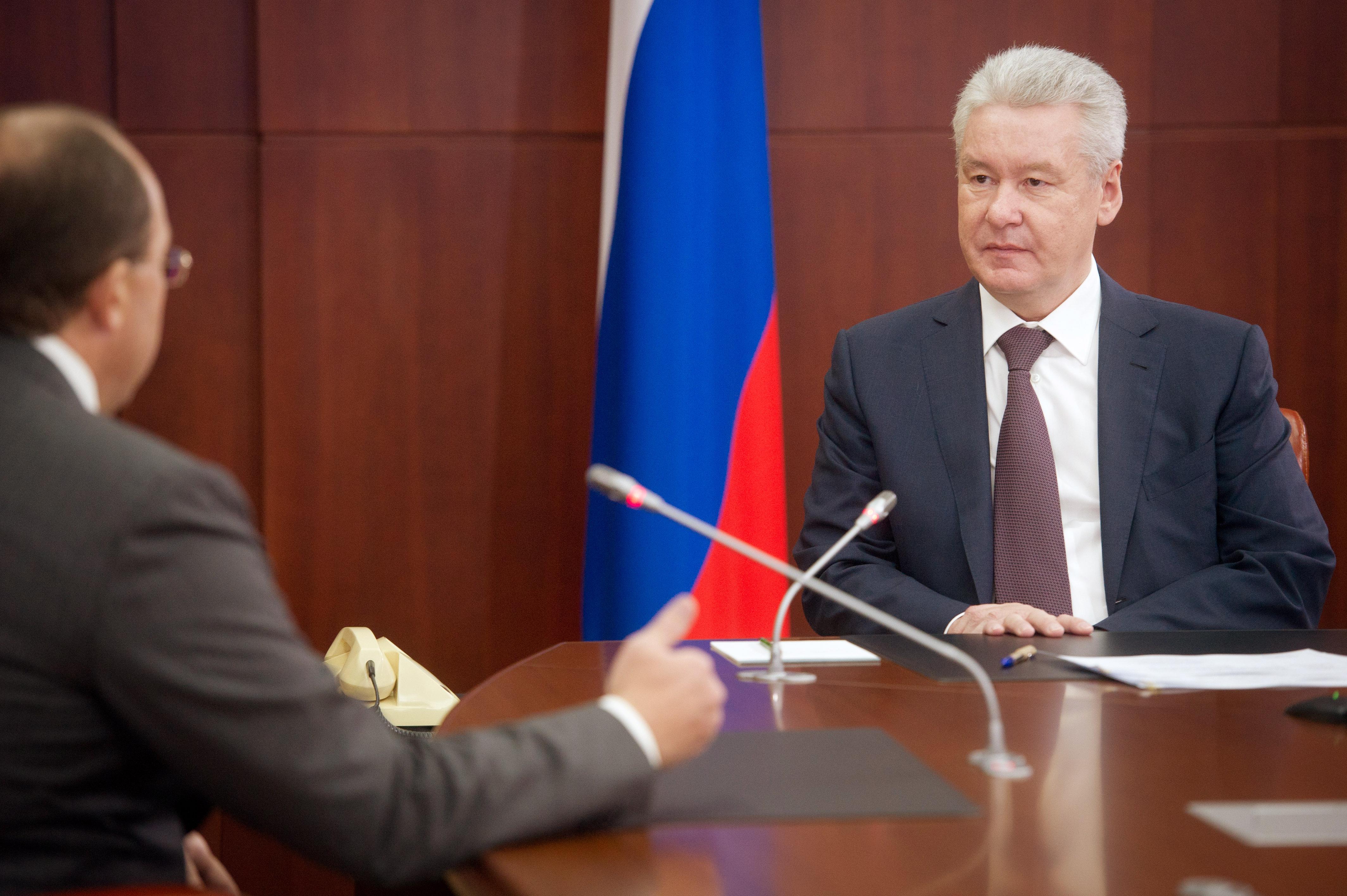Сергей Собянин на встрече с горожанами