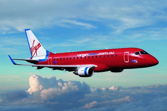Самолет авиакомпании Virgin Blue