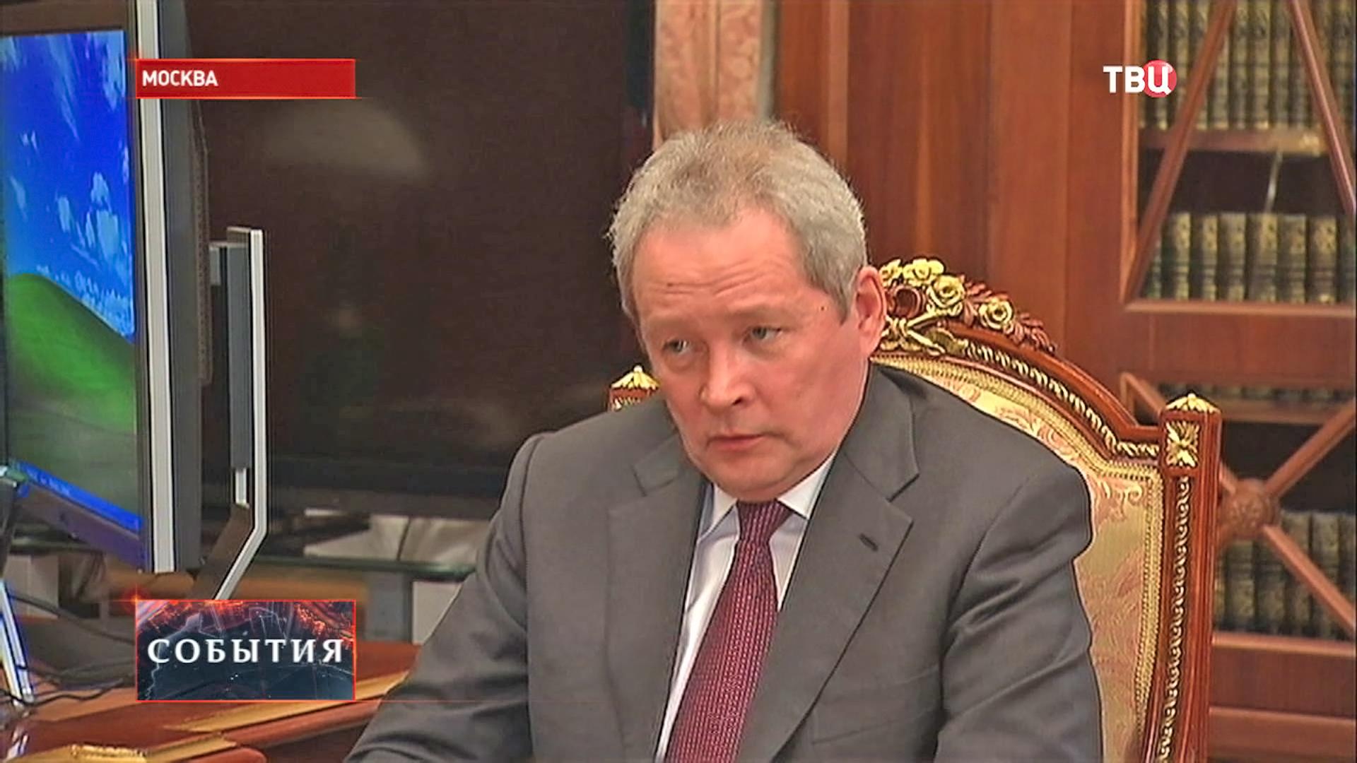 Глава Пермского края Виктор Басаргин