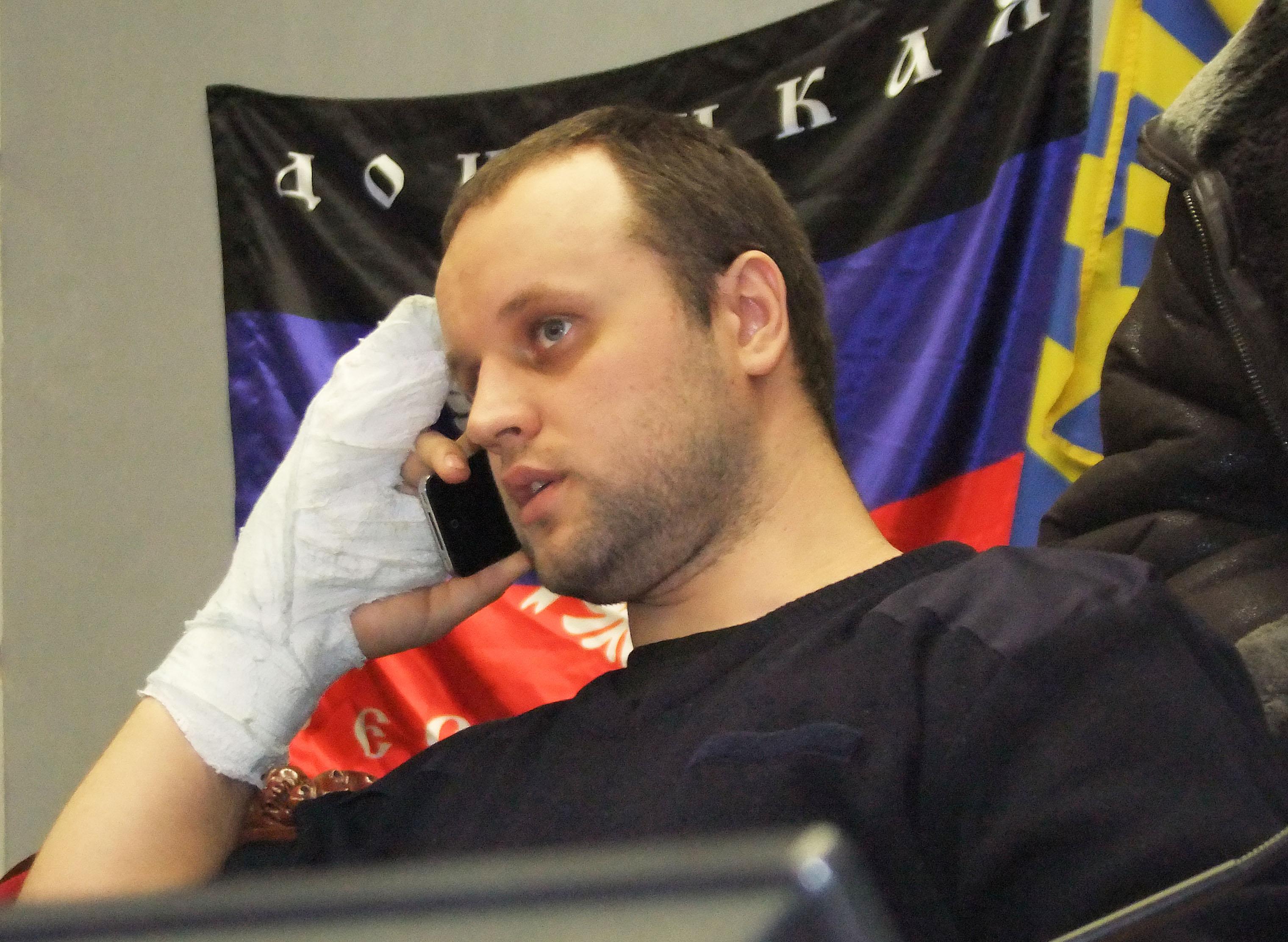 Один из лидеров ДНР Павел Губарев