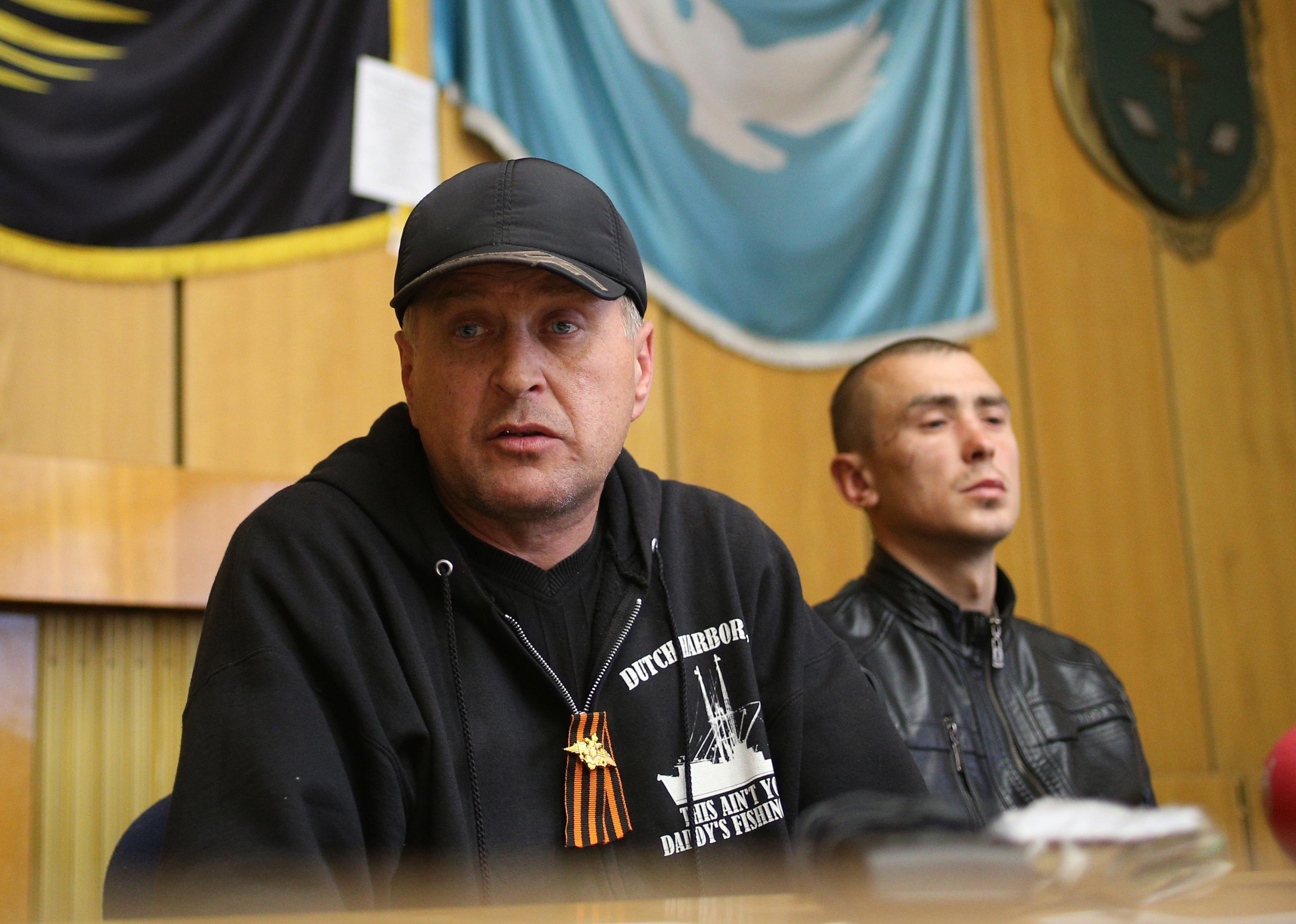 """""""Народный мэр"""" Славянска Вячеслав Пономарев"""