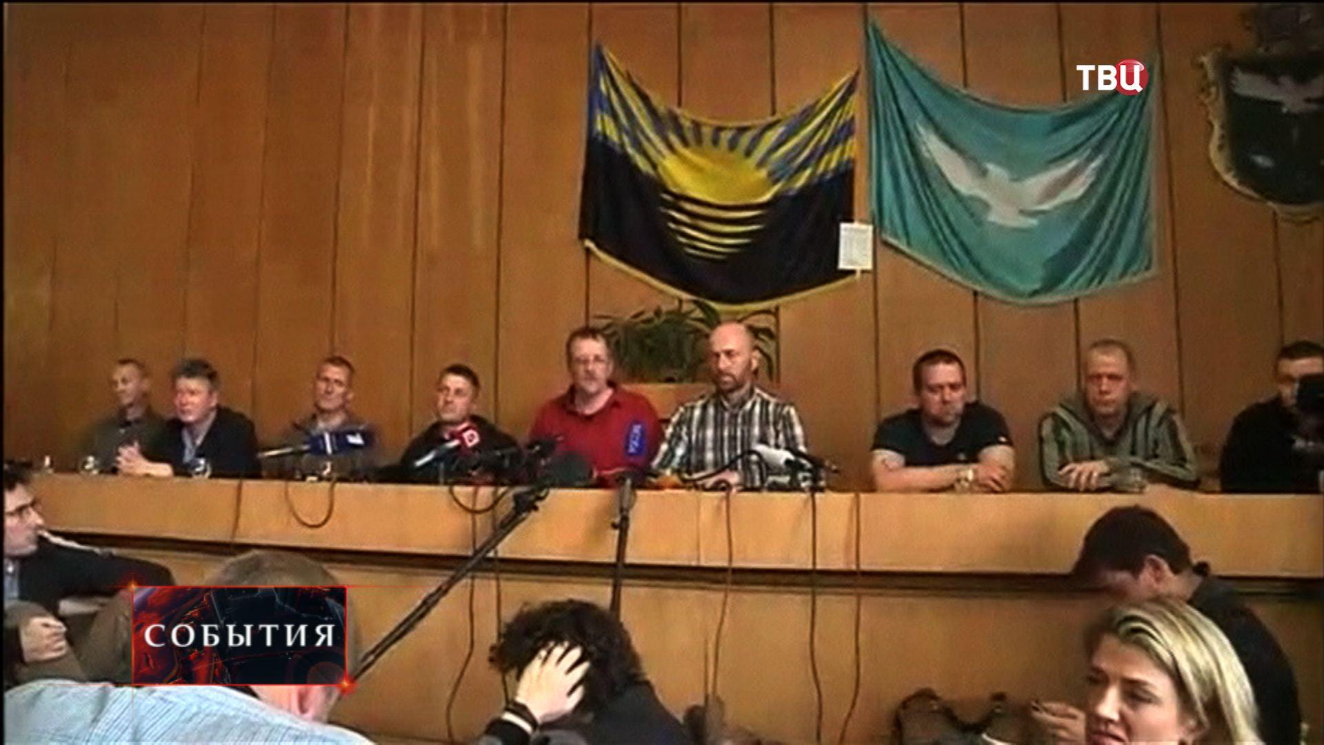 Мэр Славянска Вячеслав Пономарев