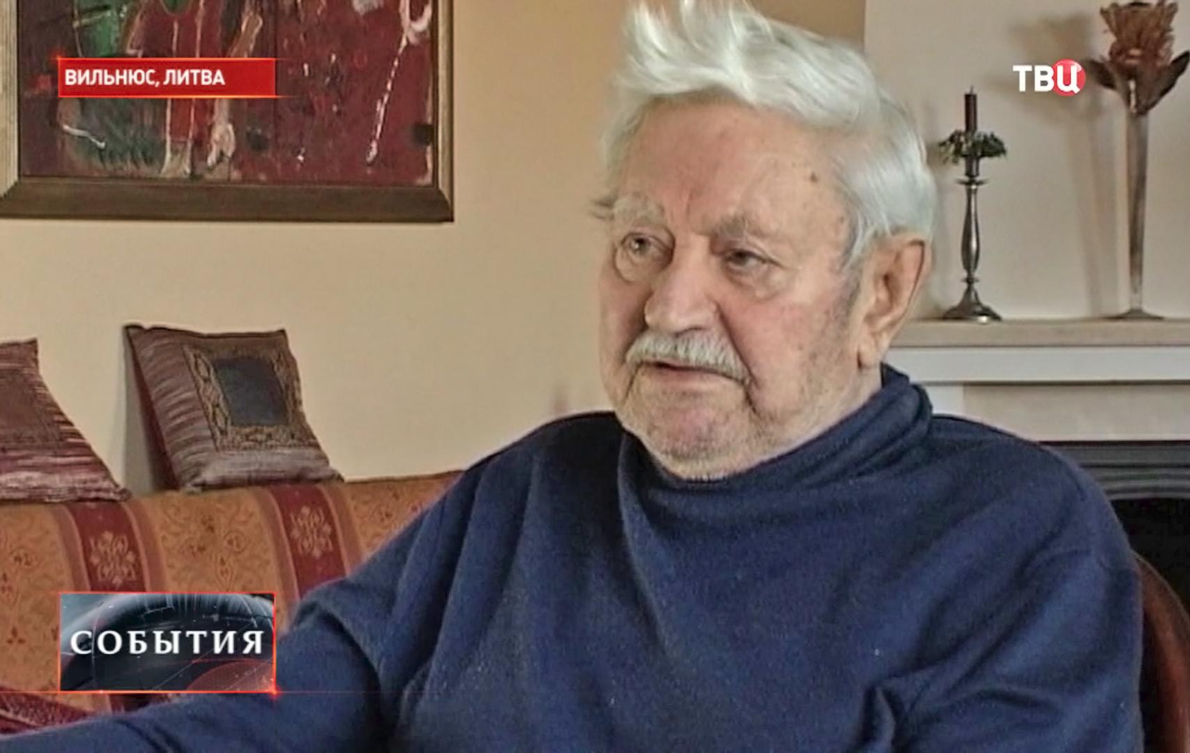 Народный артист СССР Донатас Банионис