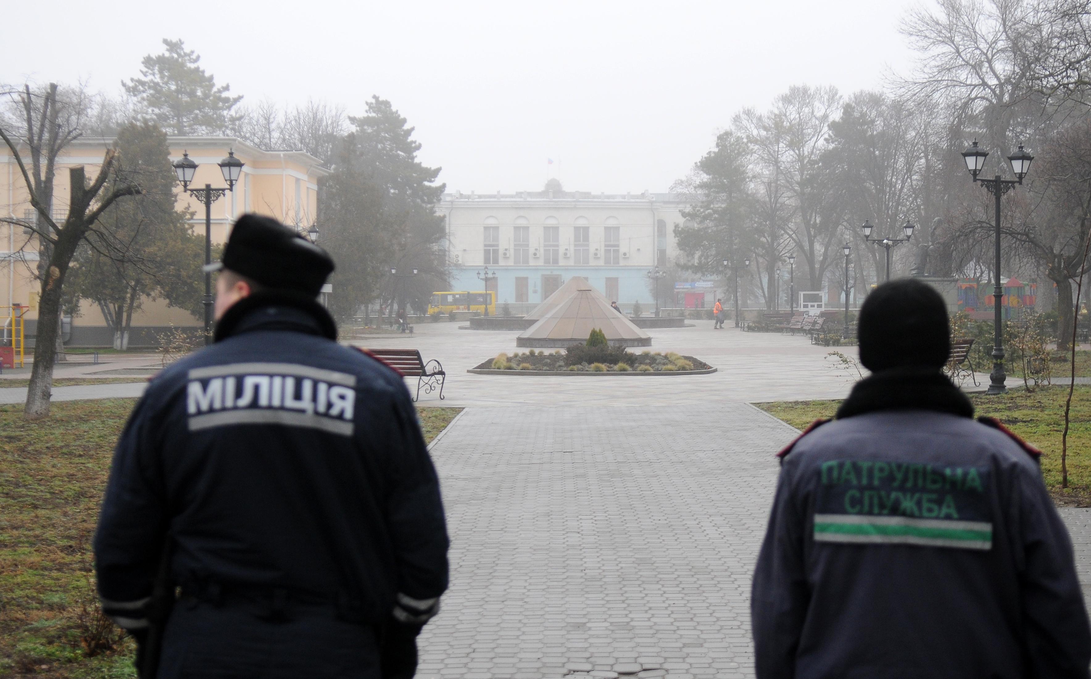 Милиция в Луганске