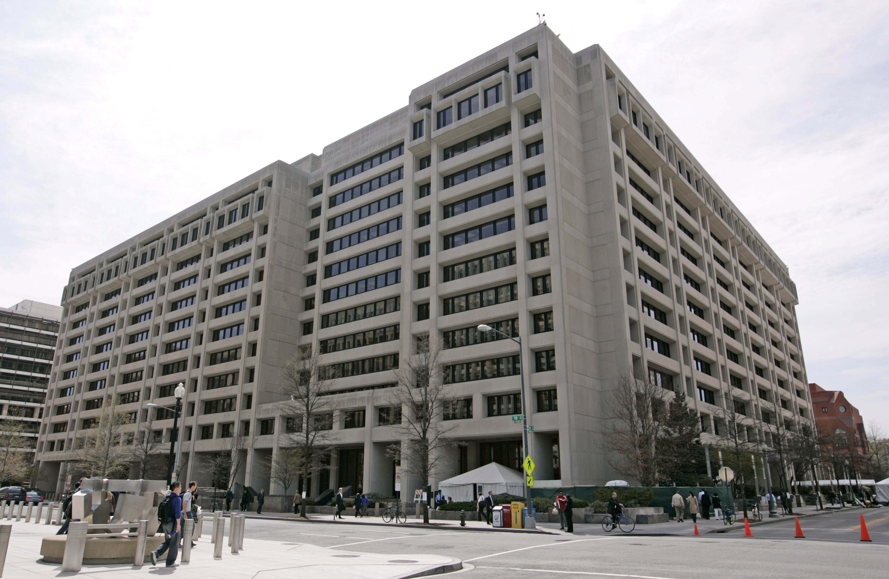 Здание Международного валютного фонда в США