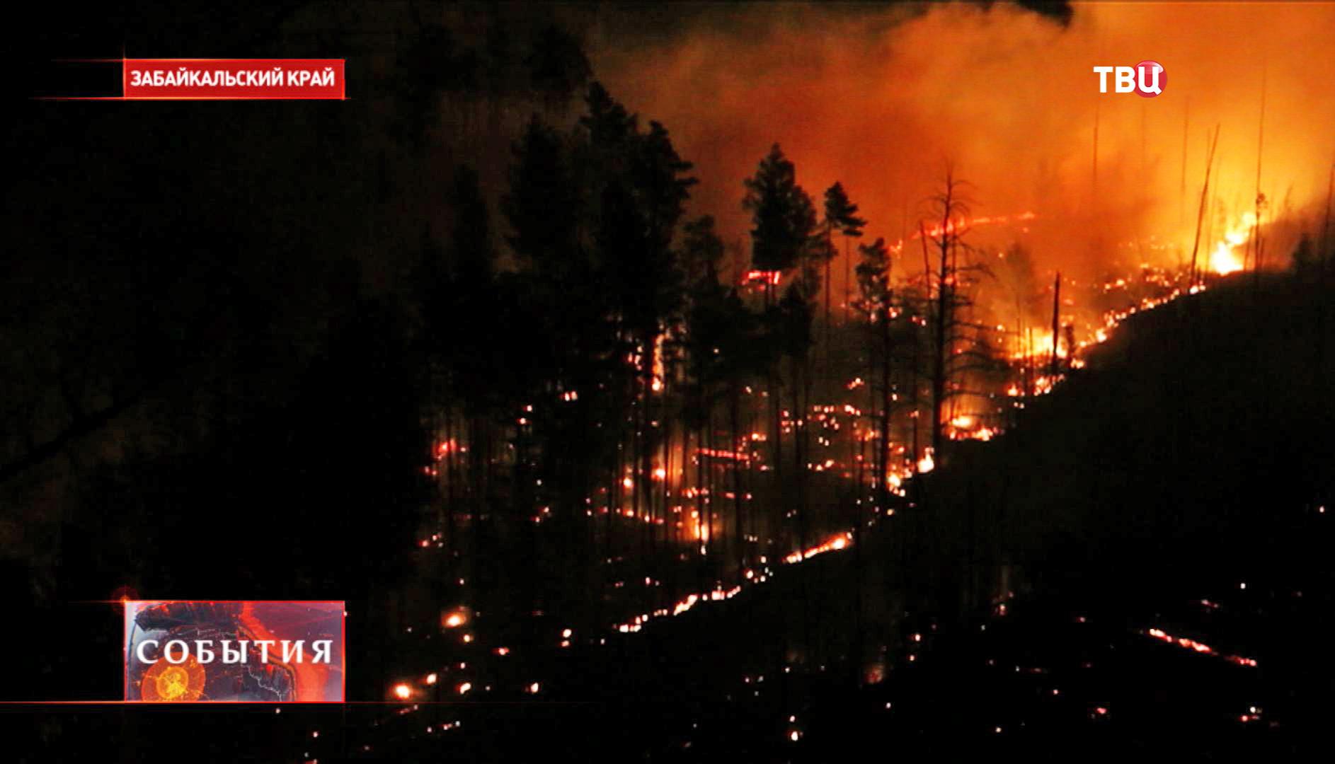 Лесные пожары на Дальнем Востоке