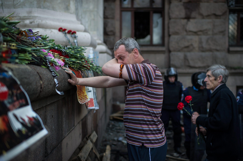 В Одессе разрешили эксгумацию тел погибших в Доме профсоюзов