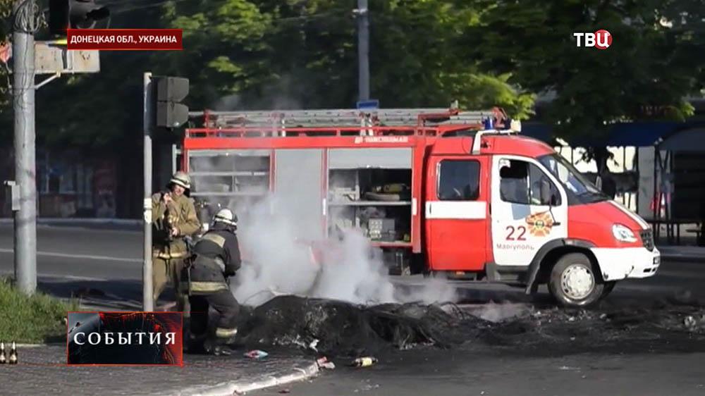 Пожарная служба в Донецкой области