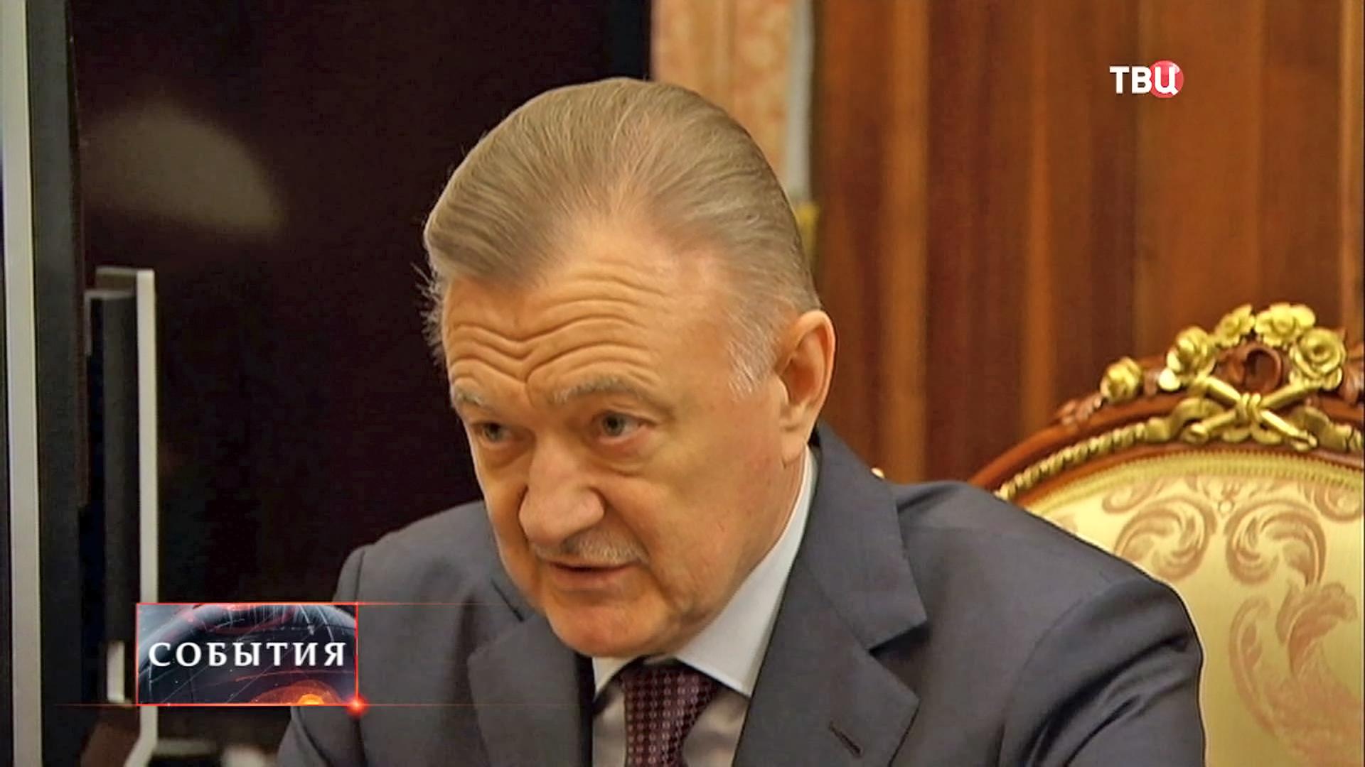 Губернатор Рязанской области Олегом Ковалевым