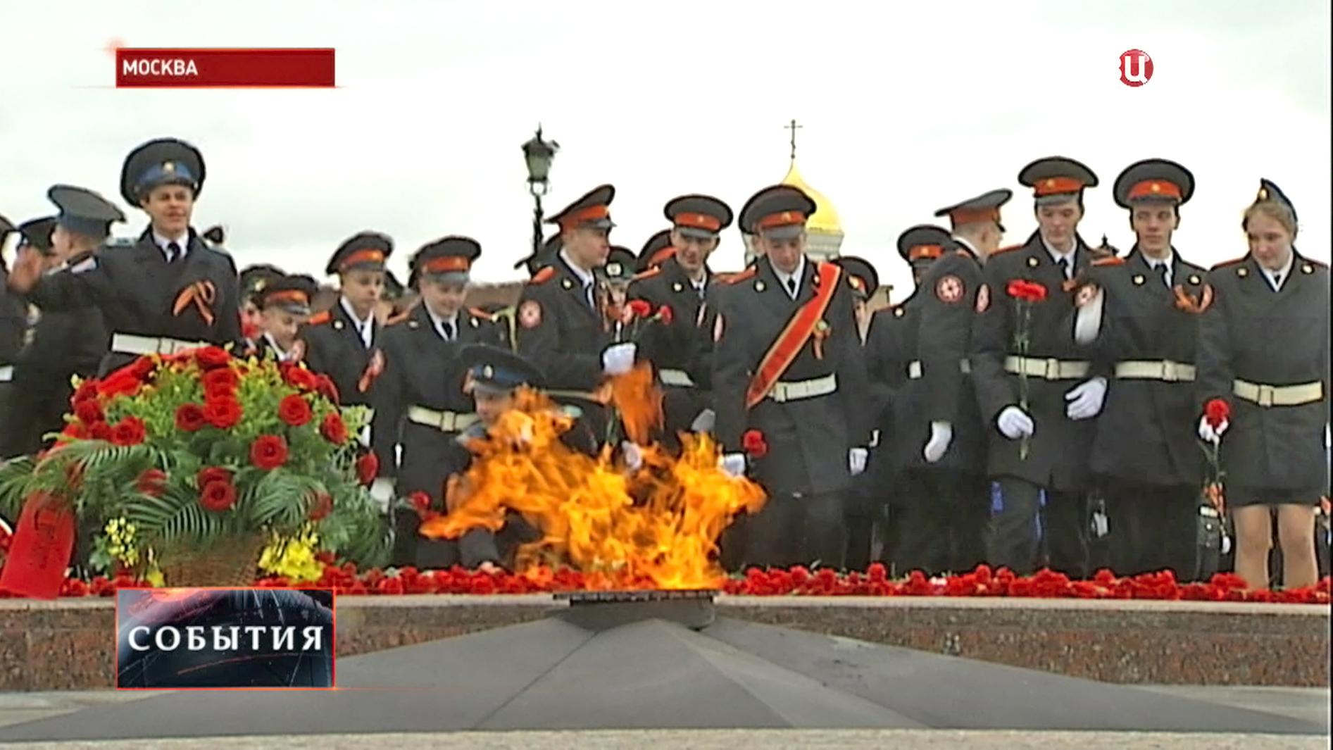 Парад в день памяти Георгия Победоносца