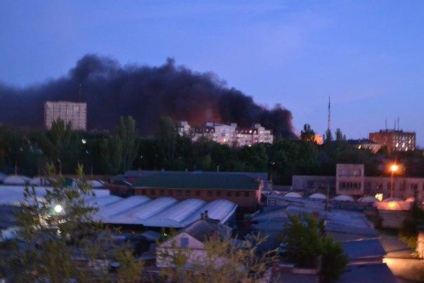 Украинские военные атакуют блокпосты в Мариуполе, фото: vk.com