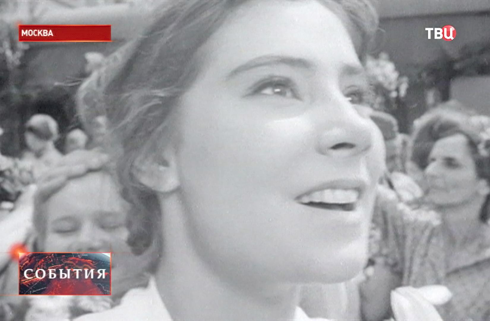 "Артиста Татьяна Самойлова в фильме ""Летят журавли"""