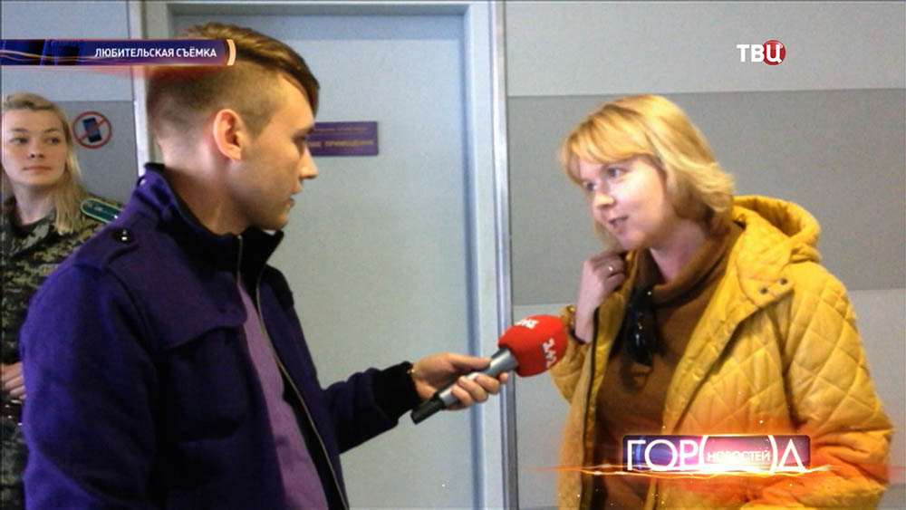 У корреспондента Веры Кузьминой берут интервью украинские СМИ