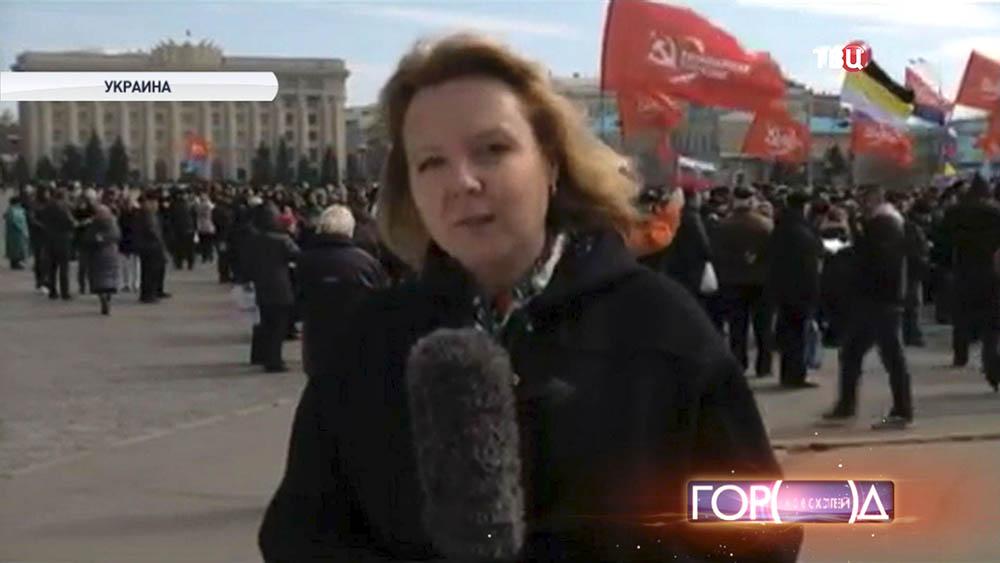 Корреспондентка Вера Кузьмина