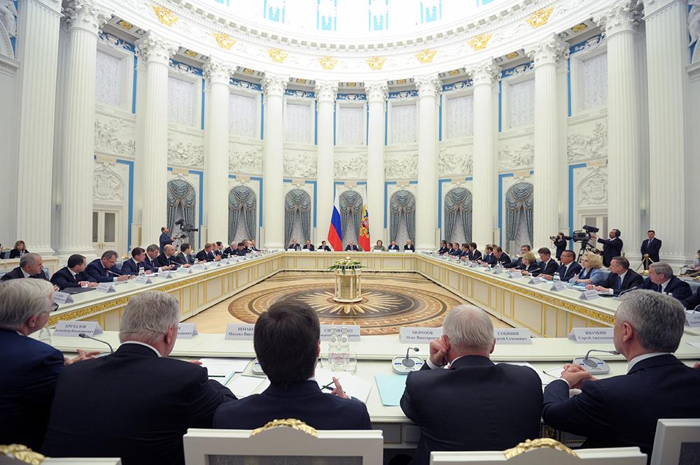 Заседание Комиссии при президенте РФ