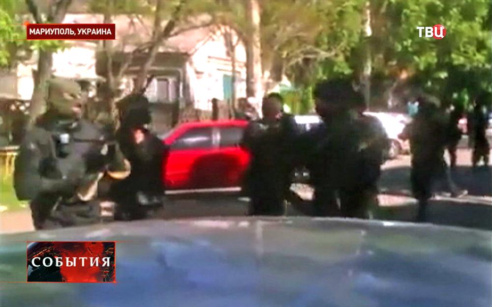 Штурм украинских военных в Мариуполе