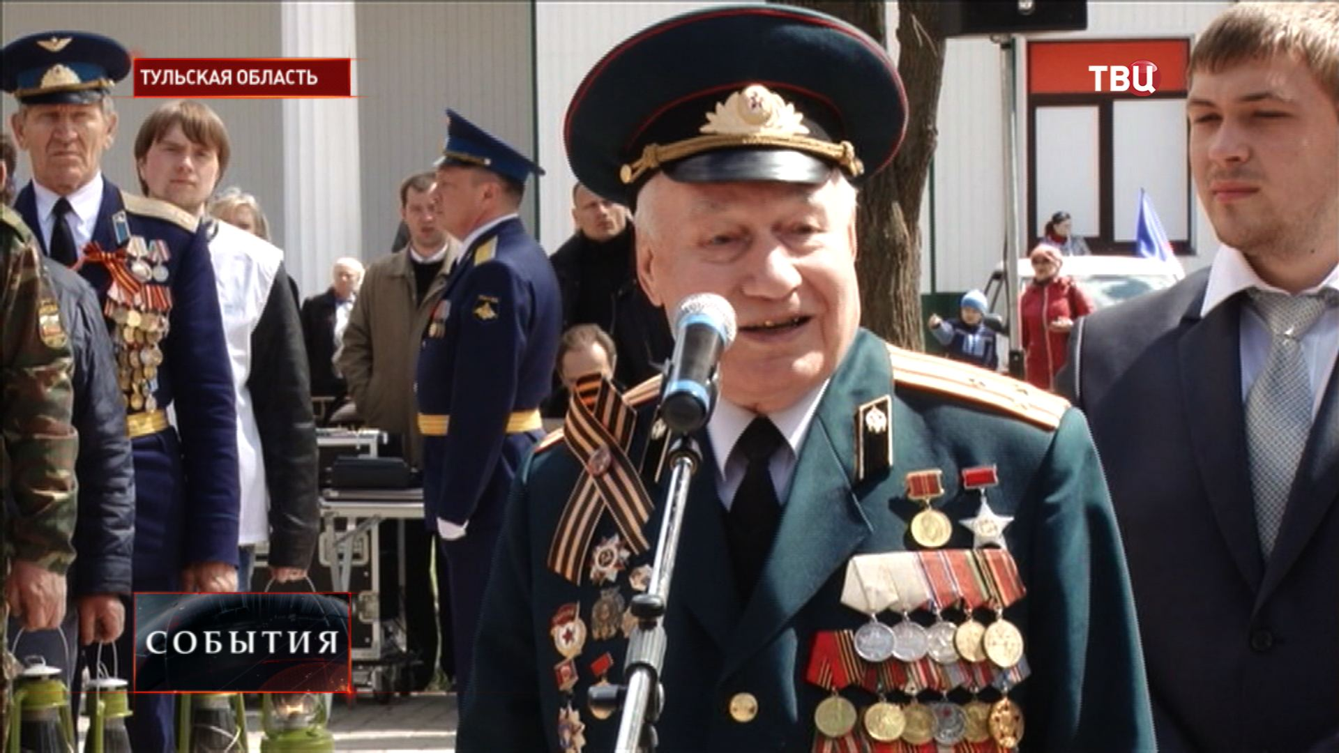Ветеран Великой Отечественной войны Александр Сахаров