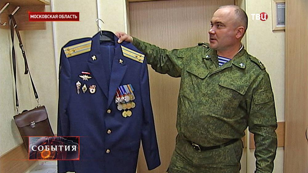 Полковник десантных войск Андрей Суховецкий