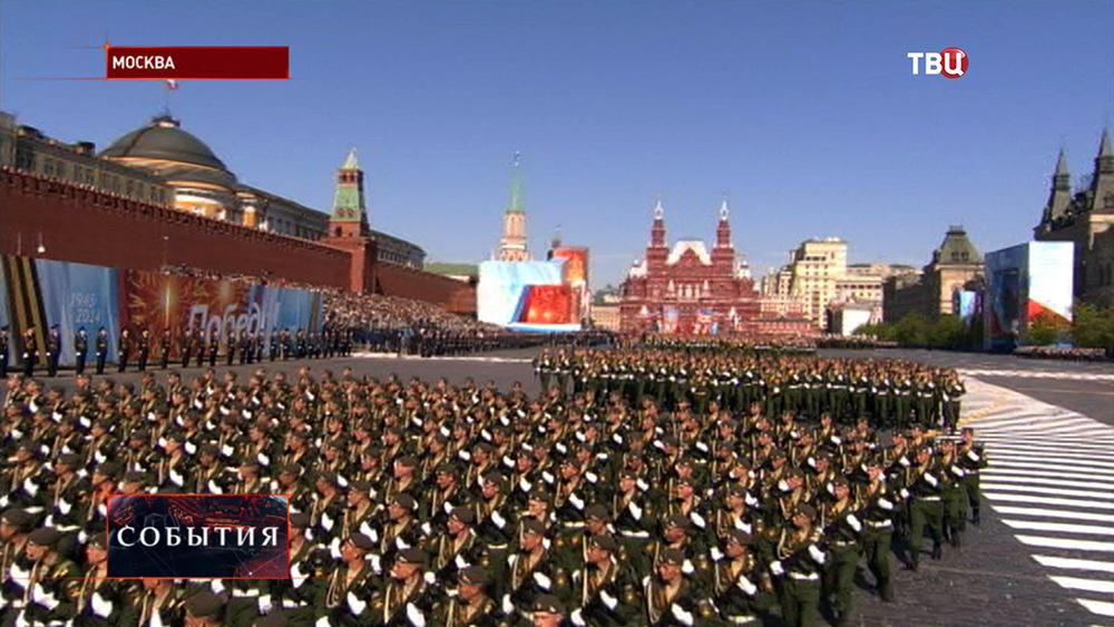 Парад Победы на Красной площади
