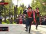 Возложение цветов к мемориальному комплексу Мамаев курган
