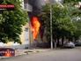 Пожар в городском отделе милиции Мариуполя