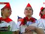 Возложение цветов к мемориальному комплексу в Севастополе