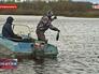 Патруль рыбнадзора обнаружил браконьерскую рыболовную сеть