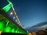 Архитектурно-художественная подсветка Крымского моста