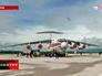 Транспортный самолет Ил-76 МЧС России на аэродроме в Сербии