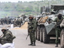 Украинские военные под Славянском