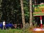 Въезд в лес запрещен