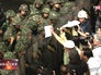 Столкновение протестующих в Таиланде с военными