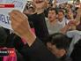 Акция протеста в Таиланд
