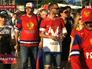 Российские болельщики в Минске