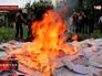 В кКраматорске сжигают избирательные бюллетени