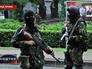 Бойцы ополчения в Донецке