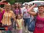 Вожатые и дети из Славянска прибыли в Крым