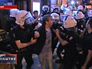 Турецкая полиция задерживает протестующих