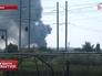 Последствия обстрела Нацгвардии Украины