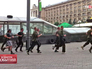 Активисты Майдана делают зарядку